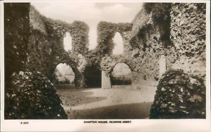 Real photo; Reading abbey; chapter house; ETW Dennis