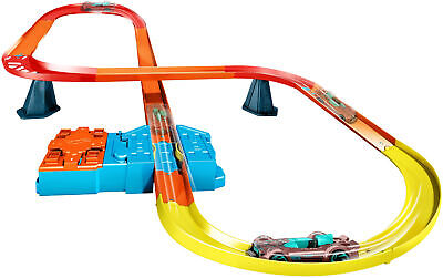 Super-8 Kit Track Kids Track Builder System Multi-Use Pieces Set Race Portal NEW