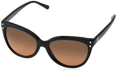 Michael Kors Women's Jan MK2045 55mm Black/Grey/Orange Gradient Sunglasses