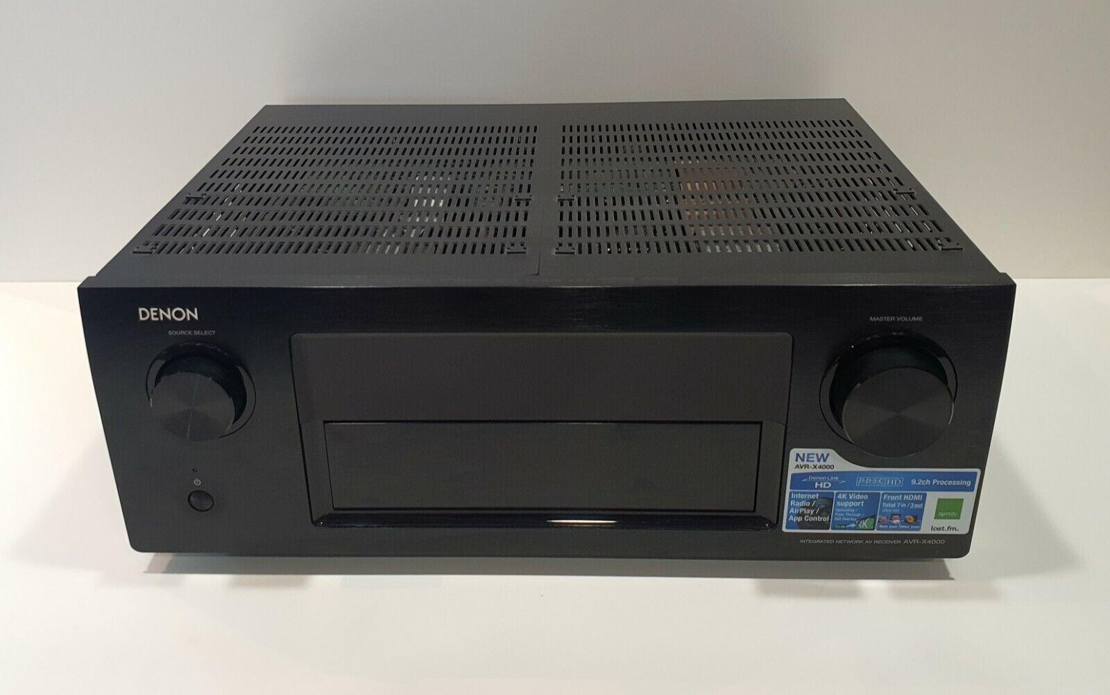 Denon AVR-X4000 Heimkino Receiver  / Verstärker - schwarz