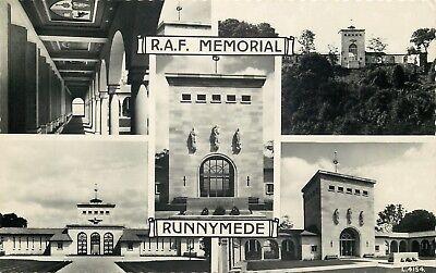 s09555 RAF Memorial, Runnymede, Surrey, England RP postcard unposted