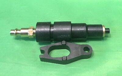 Compression Test Adapter Tool Fits 5.9L 6.7L Cummins Diesel Engine Dodge (Diesel Engine Compression Test Adapter)