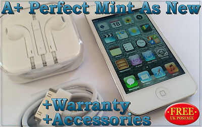 Apple iPod touch 4th Gen White 32GB Perfect Mint Condition +Accessories+Warranty