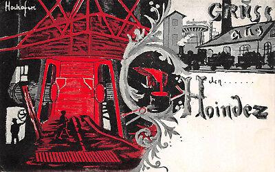 Gruß aus Choindez Jura Schweiz Bergbau Postkarte