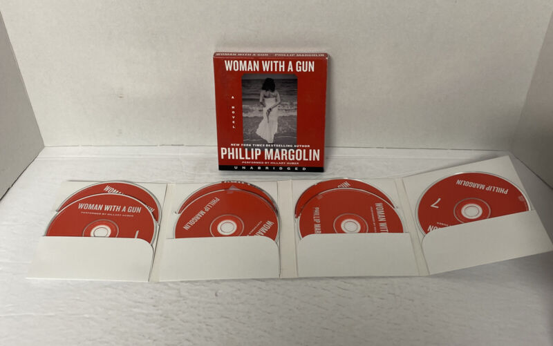 Woman with a Gun by Phillip Margolin (2014, Compact Disc, Unabridged edition)