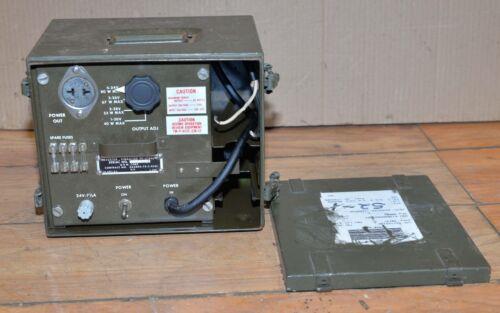 US military PP-1703U inverter vibrator voltage equipment government surplus