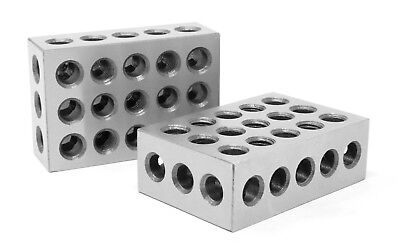 Wen 10423 3 X 2 X 1-inch Steel-hardened Precision 123 Blocks Two Pack
