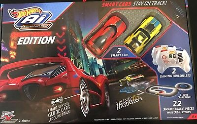 New Hot Wheels Ai Street Racing Edition 22 Smart Track Pieces With Smart Sensors