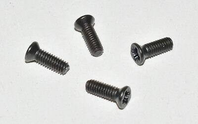 4 Stück Gehäuse (Märklin 756010 4 Stück Gehäuse- Schrauben M2,5 x 8 Schraube, schwarz NEU E756010)