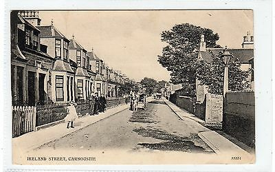 IRELAND STREET, CARNOUSTIE: Angus postcard (C25086)