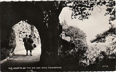 The Grotto On The Zig Zag Walk, FOLKESTONE, Kent RP