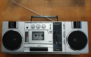 vintage Sharp boombox works perfectly Made in Japan $125 Obo