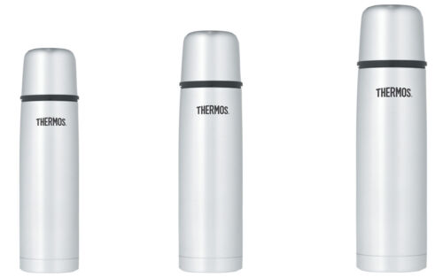 vacuum insulated compact stainless steel beverage bottle