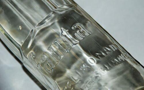 WW2 German Fanta by Coca-Cola Glass Bottle 0.25l 1940  mint!