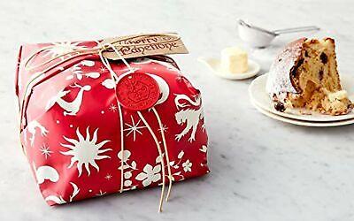 Rustichella d'Abruzzo Amarena Cherry Panettone Italian Christmas Cake Bread I... ()