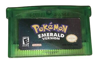 Pokemon Emerald Version Nintendo Gameboy Advance (New)