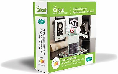 *New* ALL OCCASSION BOX CARDS 3D Cricut Cartridge Factory Sealed Free Ship