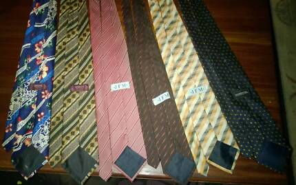 Mens ties $5 each Brands include Tarocash and Barrington Waroona Waroona Area Preview