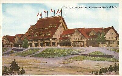 Old Faithful Inn, Yellowstone Park (4268 Old Faithful Inn Luxury Log Structure Yellow Stone National Park Postcard)
