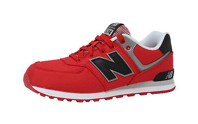 New Balance Shoes Kids Grade School Sneakers KL574F5G - Red/