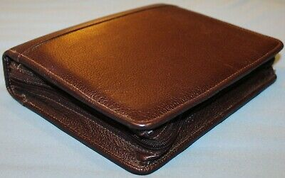 Compact 6- 1.58 Ring Burgundy Wine Leather Franklin Covey Quest Planner Canada