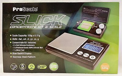 New ProScale Slick Kit & Scale 100g X 0.01g Scale With Free Shipping