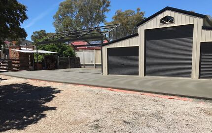 GREAT PRICES  driveways,sheds,footpaths