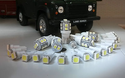 Land Rover Defender 90/110 TDI Instruments Clock & ALL warning lights LED White