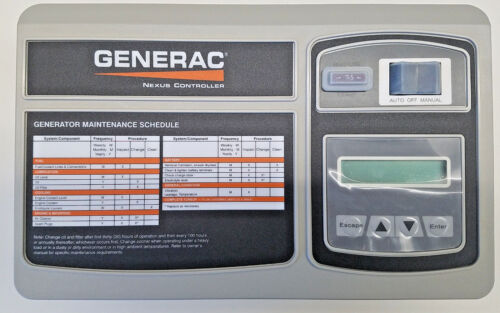 0H7668DSRV - Generac - Assembly Control Panel (Programmed)
