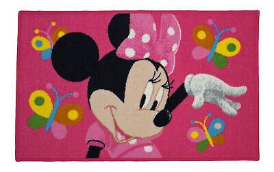 Disney Kinder Teppich MINNIE MOUSE Kinderzimmer Spielteppich 50 x 80 cm