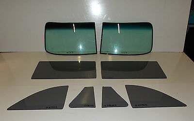 1949 1950 1951 1952 CHEVROLET CONVERTIBLE COMPLETE GLASS SET SMOKE GREY