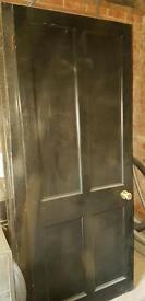 4 panel wooden doors
