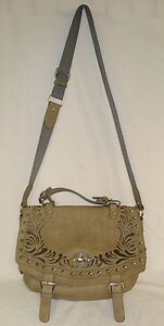 BIG-BUDDHA-Gray-Shoulder-Crossbody-Handbag-Purse-Tote