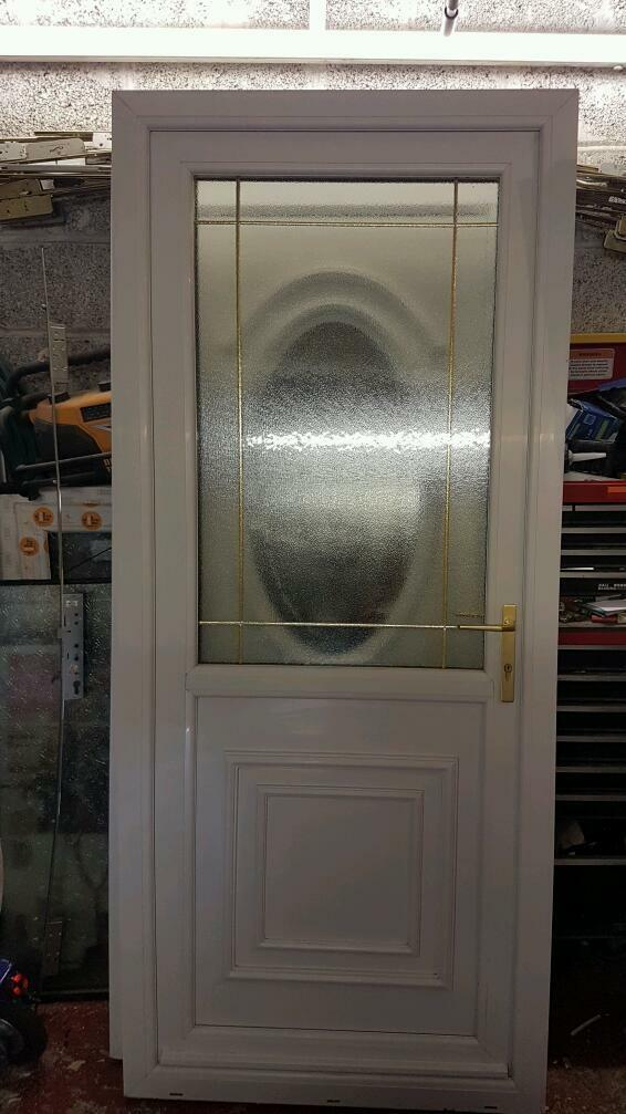 Upvc back door in wishaw north lanarkshire gumtree for Reclaimed upvc doors