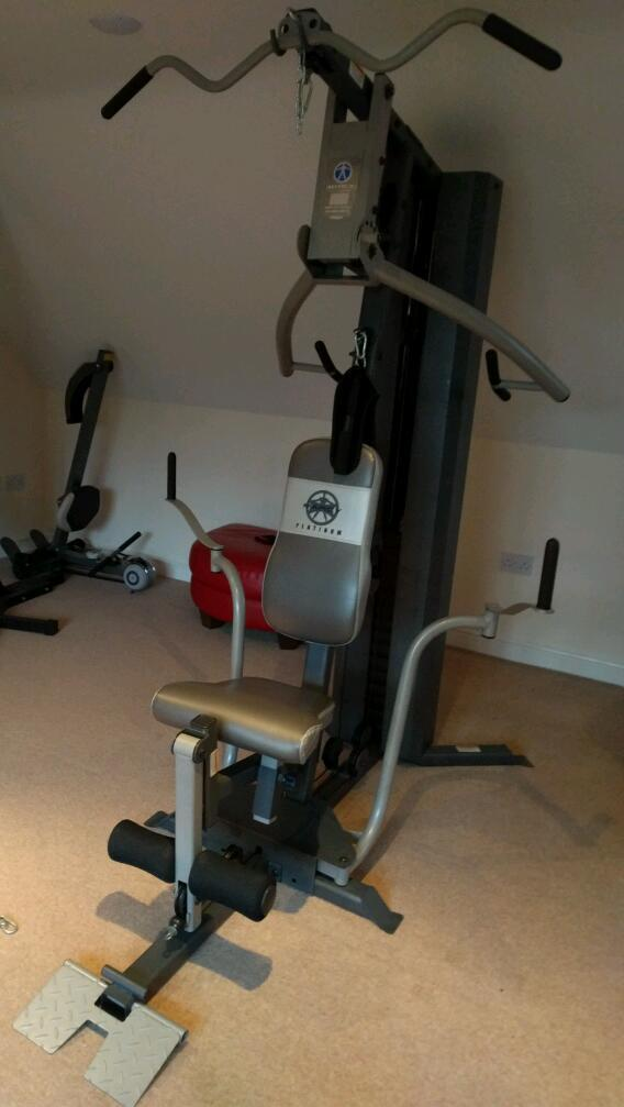 Marcy Platinum Mp2106 Home Multi Gym In Loughborough