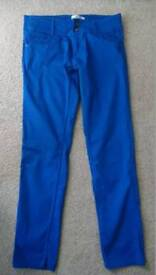 Blue trausers. Size L (UK12)