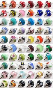 300x-Wholesale-Lampwork-Charms-Bead-Fit-Bracelet-151052