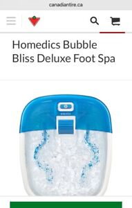 FOOT BATHS/FOOT SPAS (2 Different)