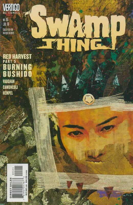 Swamp Thing (3rd Series) #15 VF/NM; DC/Vertigo | save on shipping - details insi