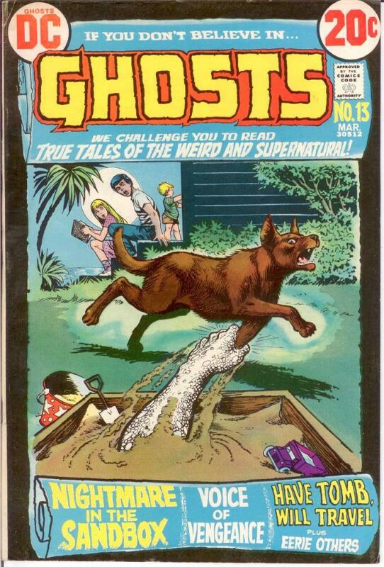 GHOSTS 13 F-VF March 1973 COMICS BOOK