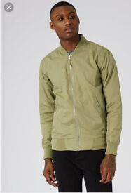 Brand new with tags topman bomber jacket small