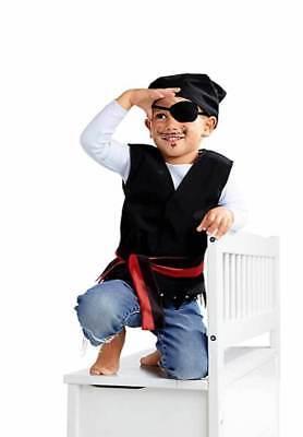 Kinder Piratenkostüm Kindergeburtstag Seeräuber Feier Kids Gartenparty 98/104
