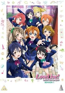 Love Live! School Idol Project Complete Season 1 Collection DVD ANIME 2 MVM