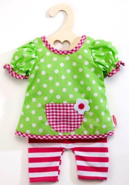 Heless Puppenkleidung - lustiges Hängerchen mit Leggins für 35 cm bis 45 cm