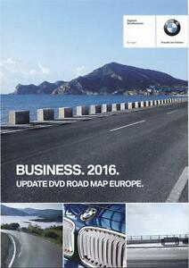 BMW Navigation Road Map Full Europe Business 2016 SERIES 1/3/5/6/X5/X6