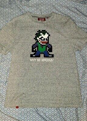 Mostly Heard Rarely Seen Joker 3d 8 bit Lego like shirt Size M medium
