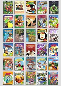 MEGA Kinder - Sortiment - Sammlung - (Filme,Märchen, ua.)  auf 25DVDs NEU