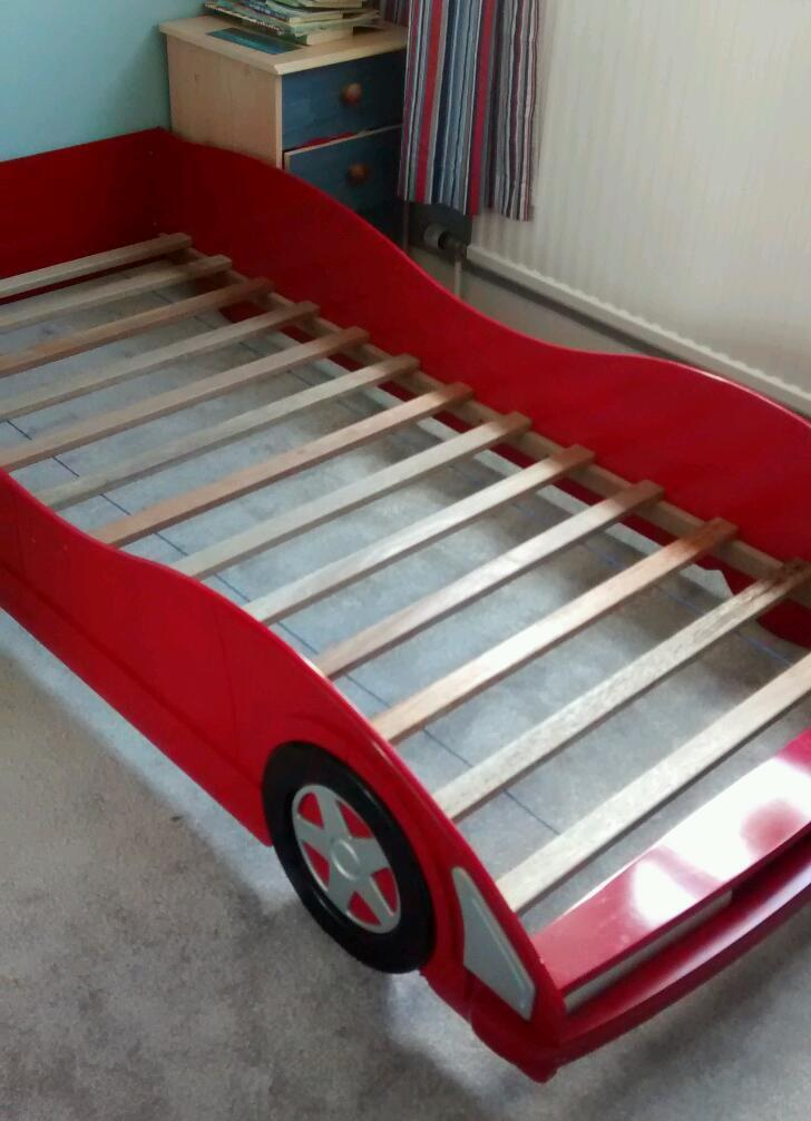 red car bed frame slats