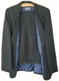 M&S women's grey 2 piece suit Size 14