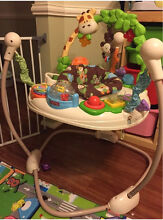 Fisher Price Go Wild Jumperoo in new condition Baulkham Hills The Hills District Preview